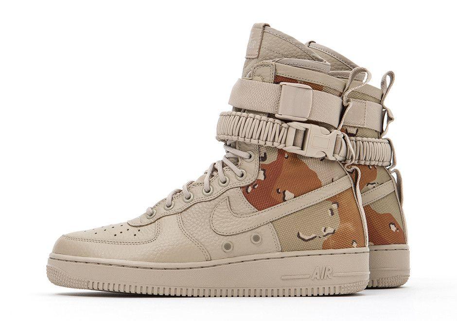 Nike Sf Af1 Desert Camo Sneakernews Com Nike Sf Af1 Nike Boots Sneakers