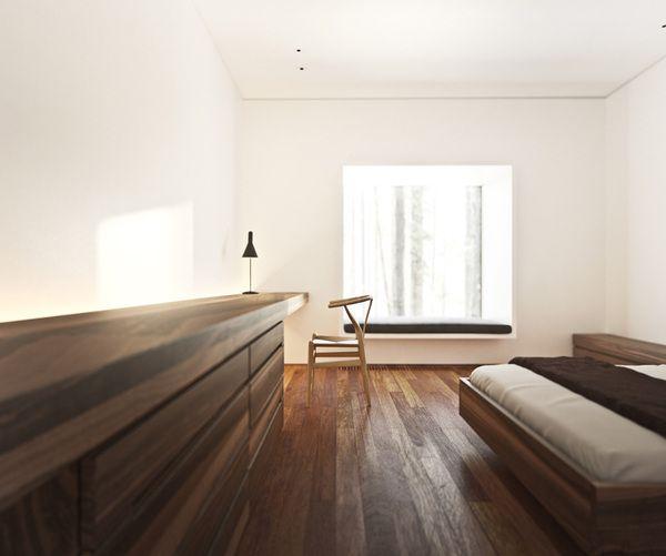 standard room by Psh , via Behance