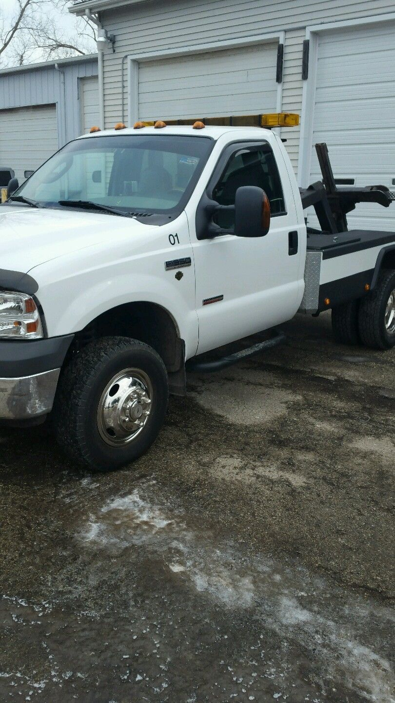 2005 Ford F350 4 4 Self Loader Wrecker For Sale Ford F350 F350 Wrecker
