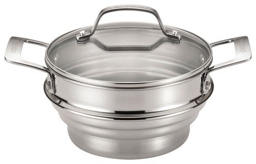 Circulon - Universal Steamer with Lid - Silver, 70135