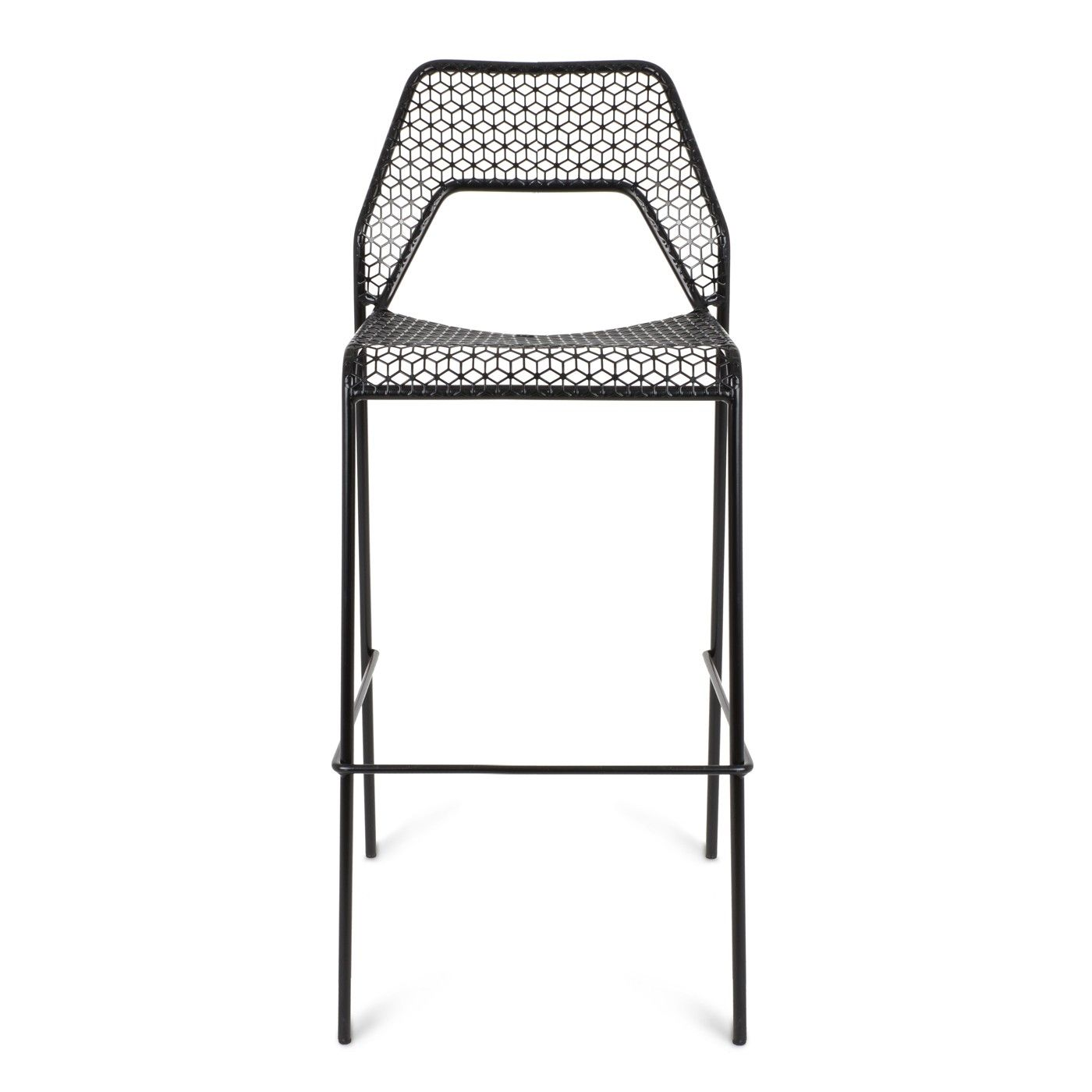 Designed by Blu Dot in Minnesota, the Hot Mesh bar stool is inspired ...