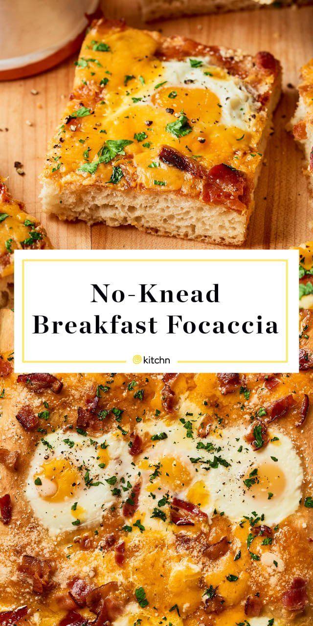 No-Knead Breakfast Focaccia   Recipe   Focaccia, Breakfast ...