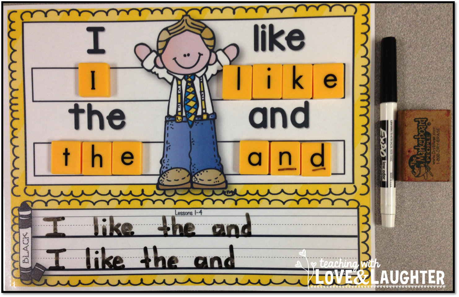 Build And Write Kindergarten Sight Words Edition With