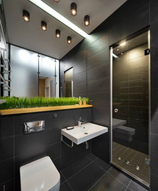 Contemporary 40 Square Meter 430 Square Feet Apartment  Square Gorgeous 40 Sq Ft Bathroom Design Decorating Inspiration