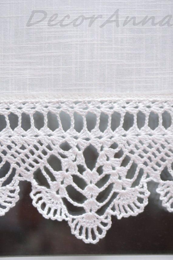 Dieser Kurze Ecru Vorhang Ist Die Einmalige Dekoration Der Vorhang
