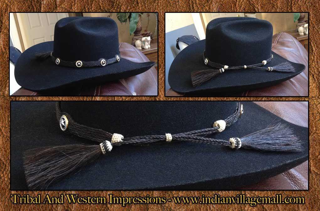 d1d96c81e5885 ... horse hair tasseled texas circle star hhat band review the texas horse  hair jewelry collection  texas rangers ...
