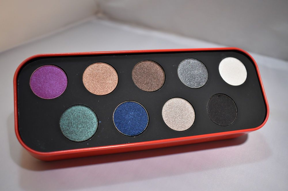 makeup forever artistic palette 9 artist eye shadow tin limited ed