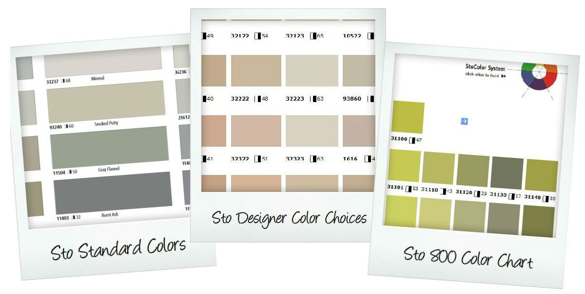 Sto color charts stucco and paint pinterest colour chart
