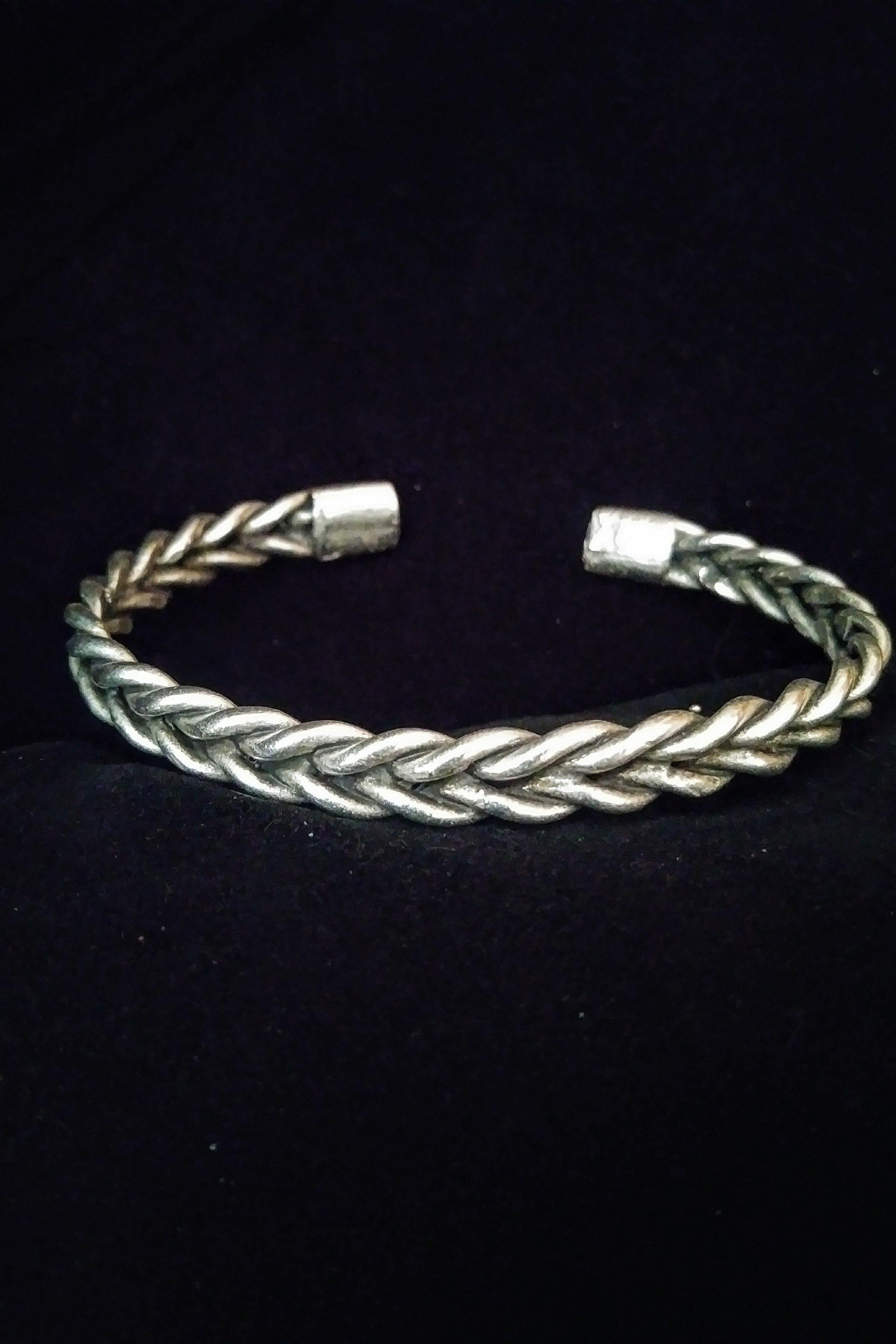 Silver Braid Bracelet Silver Braided Bracelet Jewelry Bracelets Silver Silver Bracelets