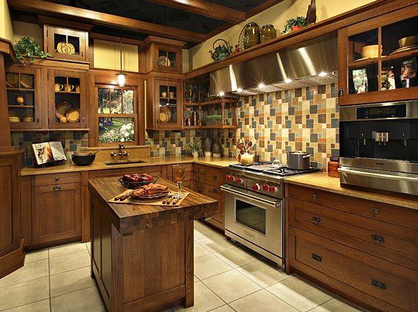 Best Kitchen Cabinets Simple Modern Brown Cabinets Black 640 x 480