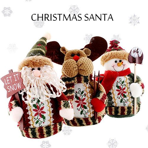 Classic Santa Claus Doll always welcomed by most children ...