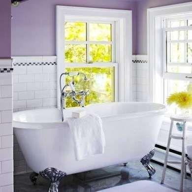 purple bathroom   purple bathrooms, purple paint colors