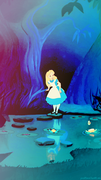"""""""But I don't want to go among mad people."""" - Alice in ..."""