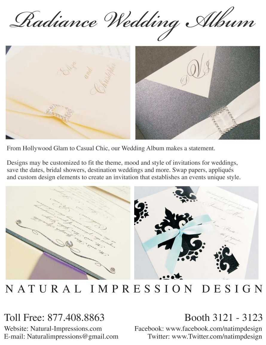 Radiance Wedding designs by Natural Impressions