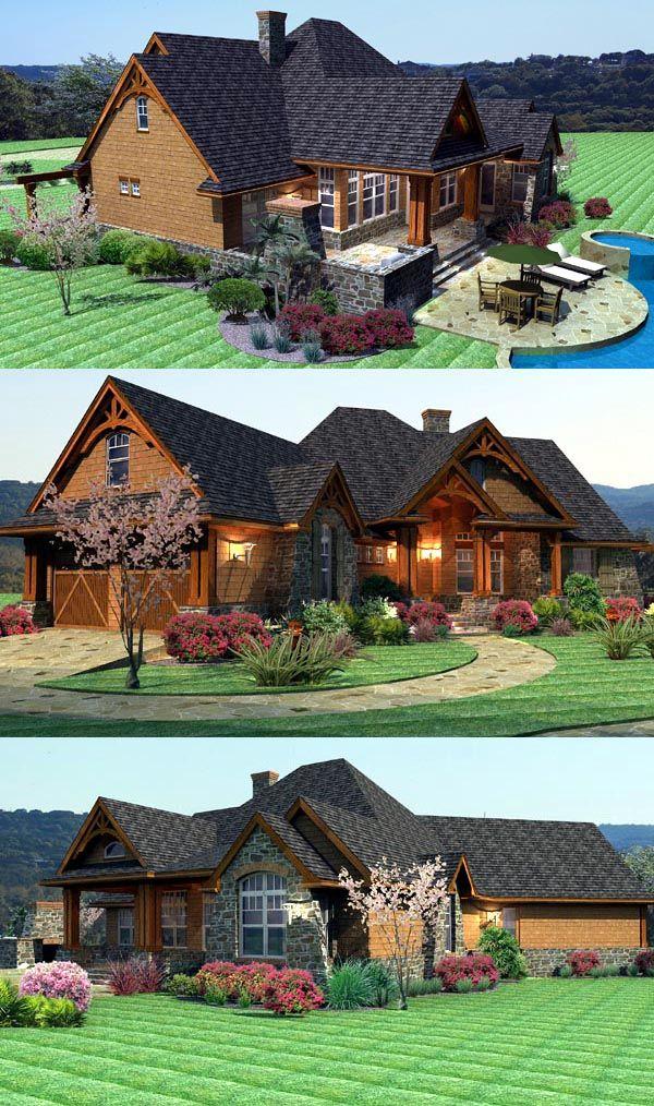 Craftsman House Plan ID: chp-46985 - COOLhouseplans.com