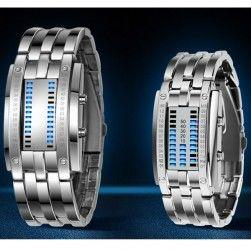 Binární LED hodinky pro muže i ženy - 2 barvy  30d0502089d