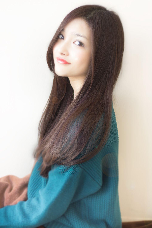 2018 年の「大人可愛い小顔ロングストレート 462【2013 秋 冬】【髪型