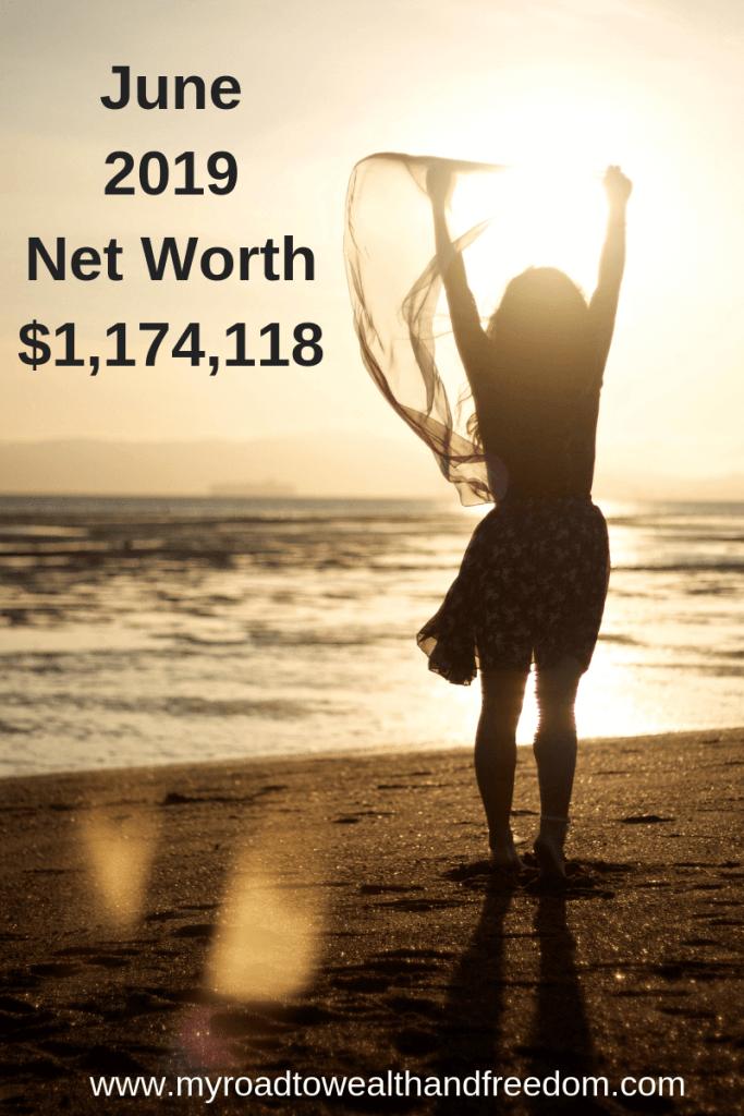 June 2019 Net Worth $1,174,118 #stockportfolio