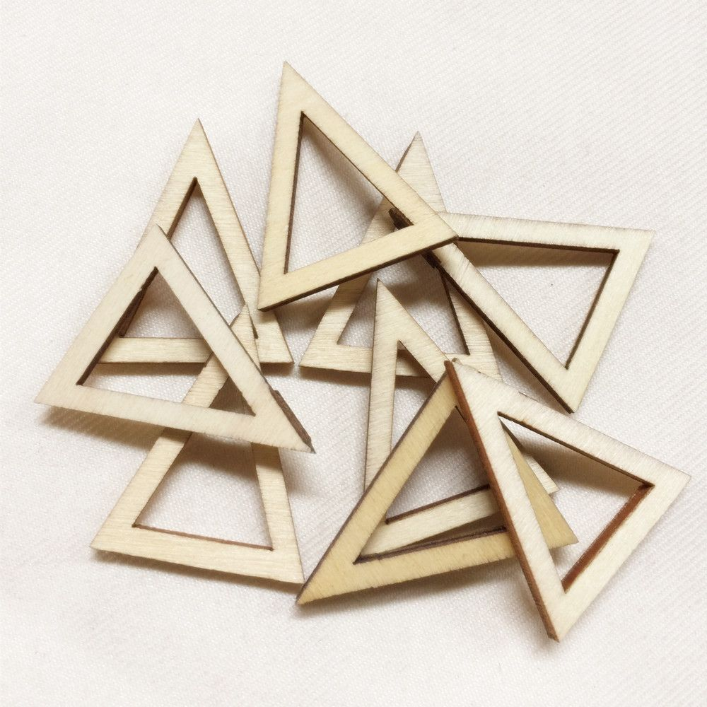 >> Click to Buy << Wholesale Price 200pcs/Lot DIY Unfinished Wooden Geometric Beads For Xmas Jewerly  MP101 #Affiliate