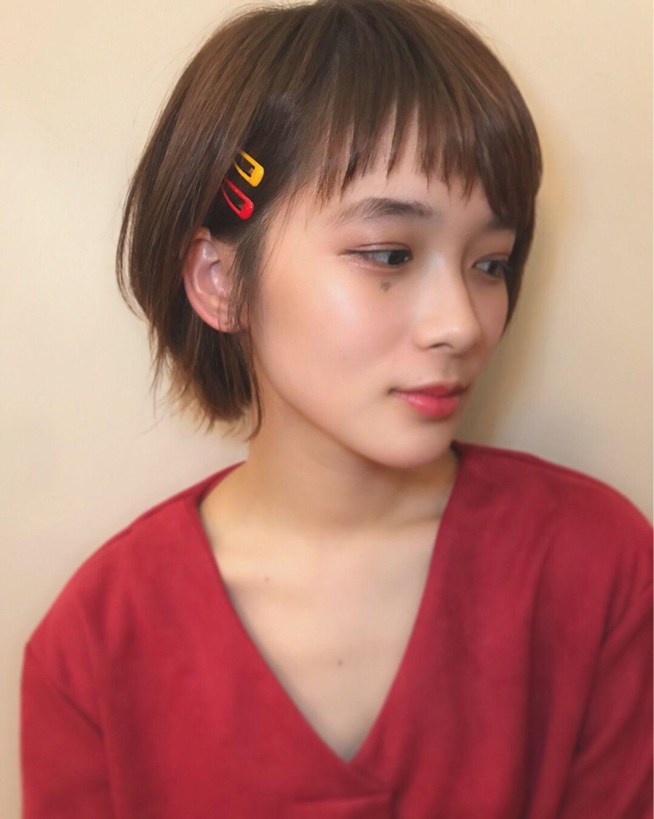 Https Hair Cm Snap 343341 短い髪のためのヘアスタイル 簡単