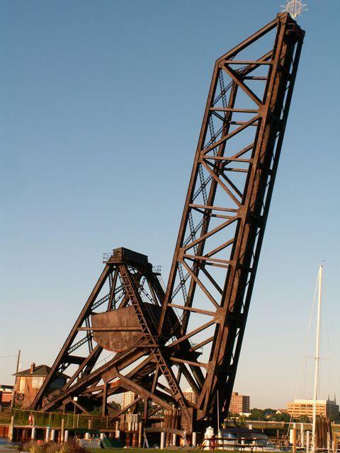 Port Huron Railroad Bridge, (Abandoned CSX) Over Black River, Port