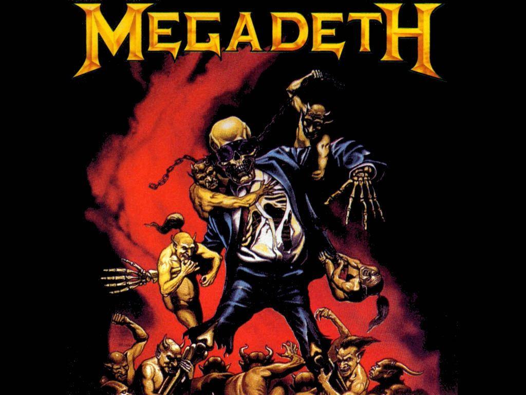 Megadeth Wallpaper Megadeth Megadeth Album Art Thrash Metal