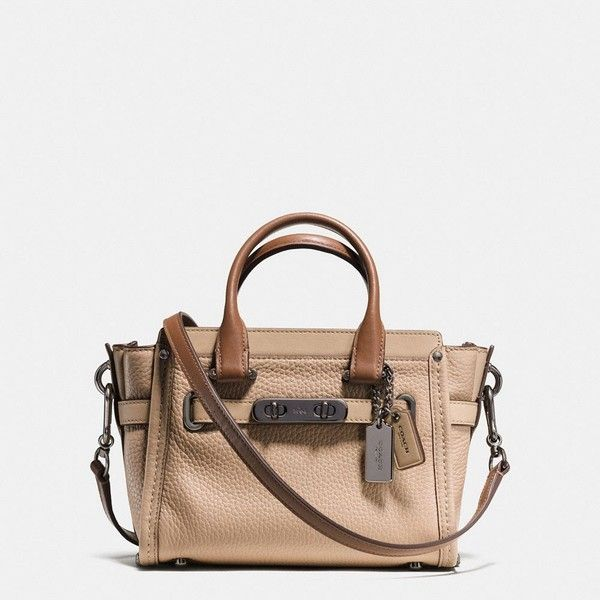 Cross Body Bags - Refined Calf Leather Grace 20 Bag Beechwood - beige - Cross Body Bags for ladies Coach 1nc7YavJDz