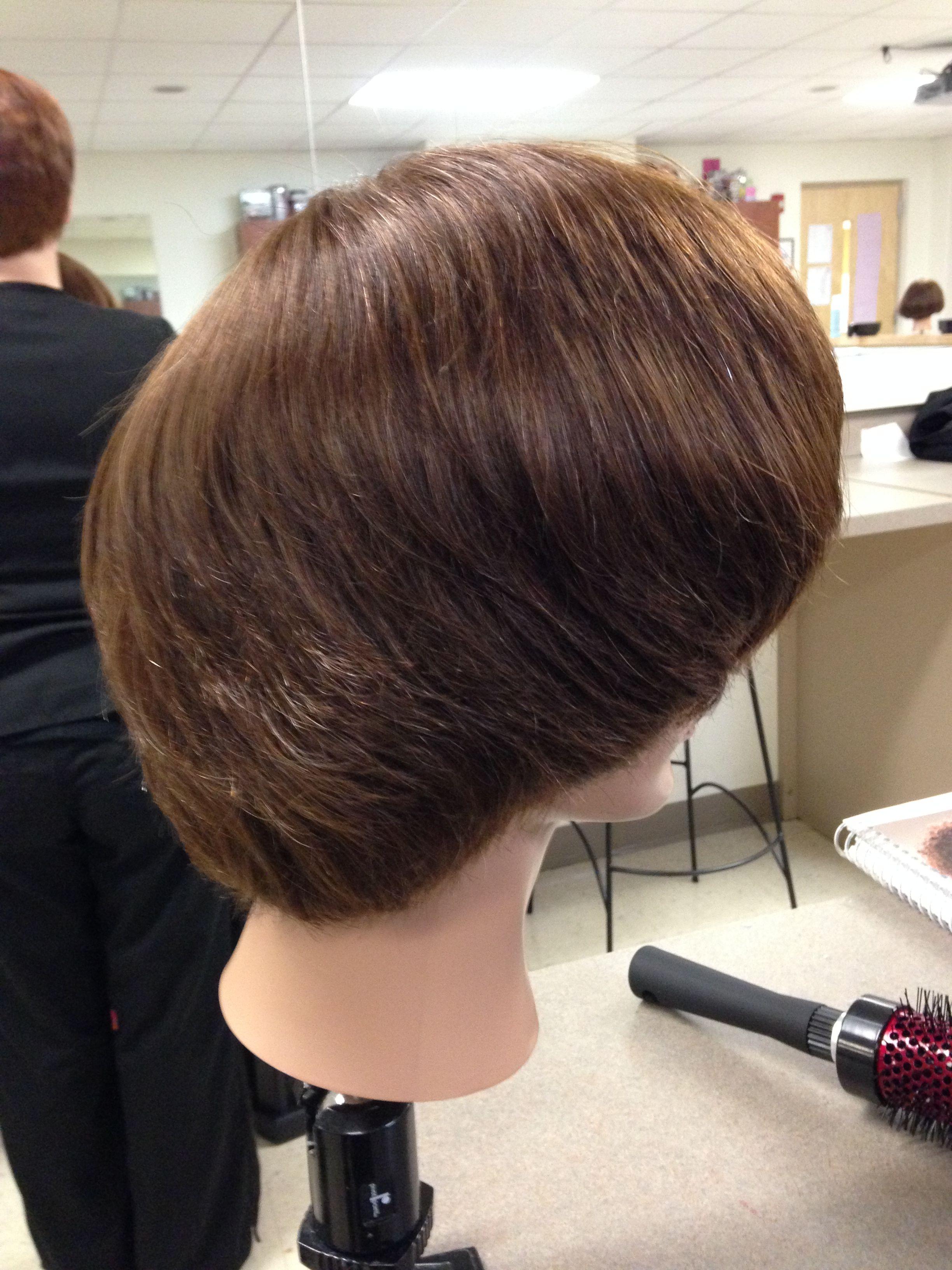 Round Brush Style Hair Style Round Brush