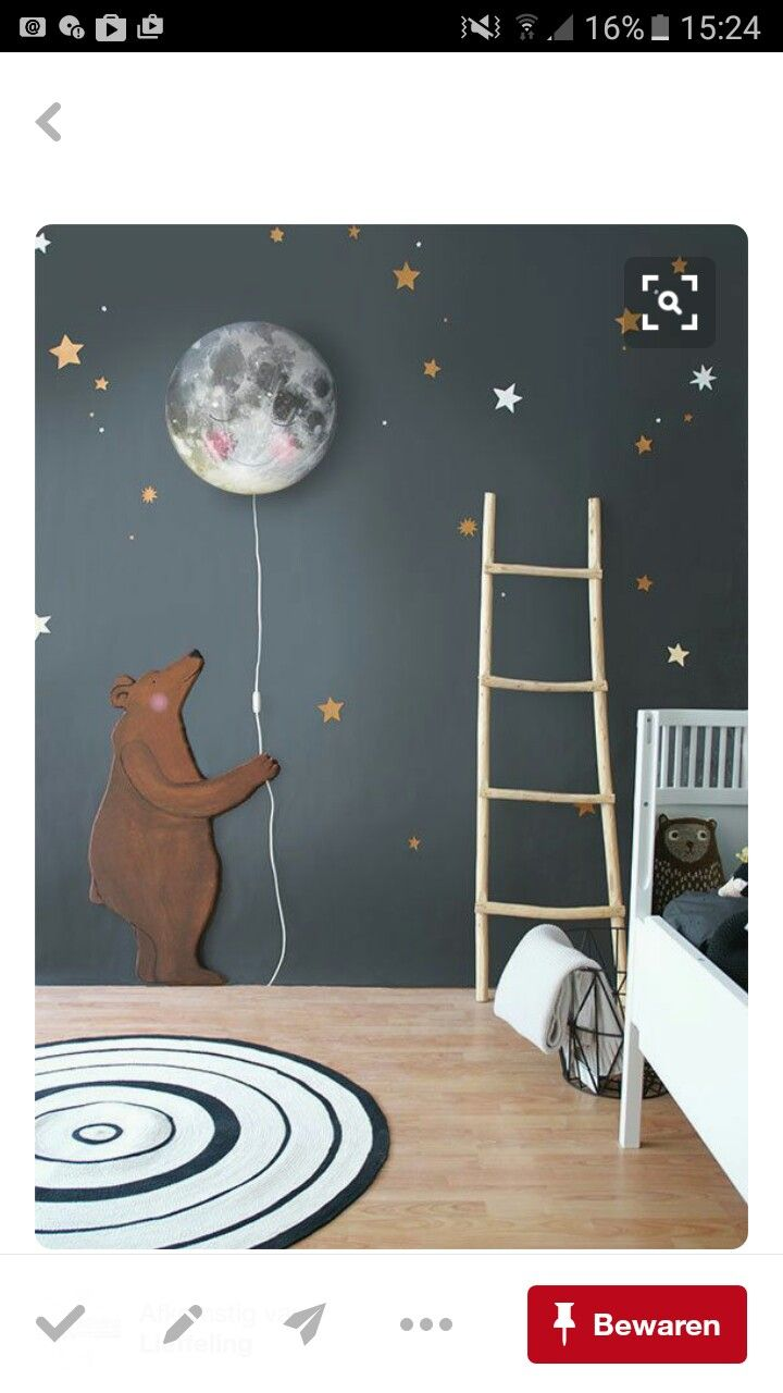 Prachtige lamp/ muur | Room Design Ideas | Pinterest | Kinderzimmer ...