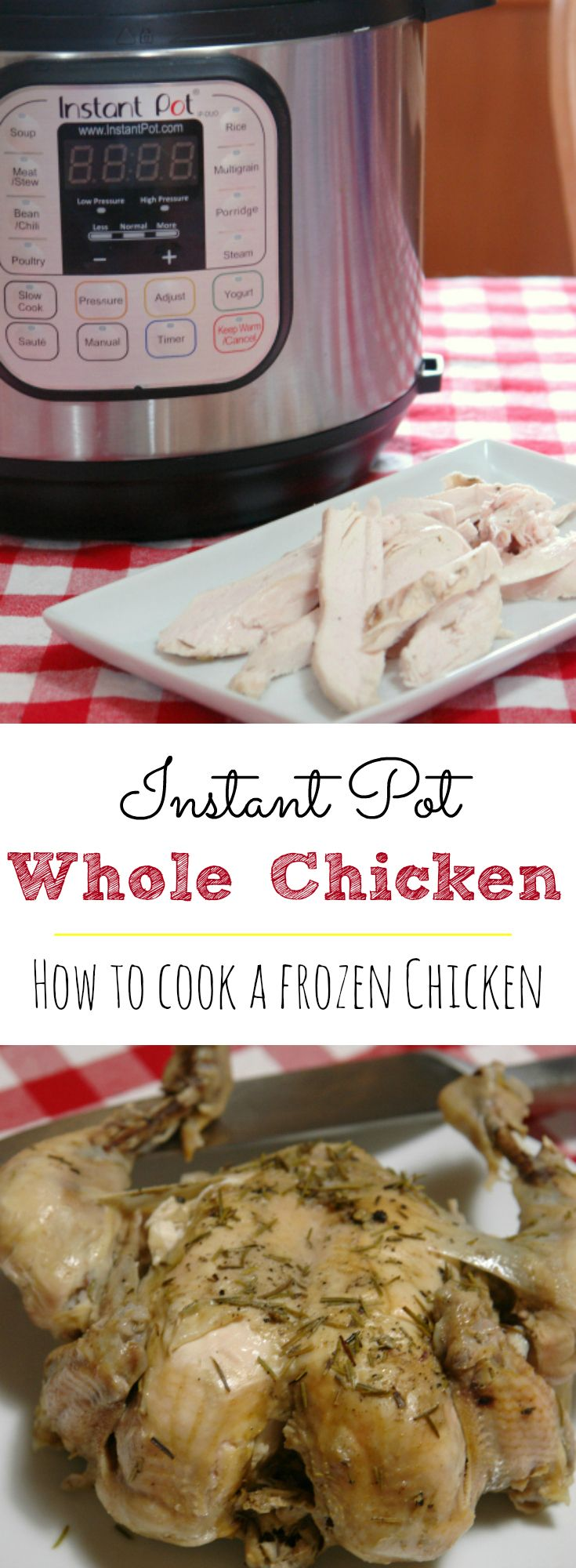 Instant Pot Whole Frozen Chicken  Recipe  Food -6217