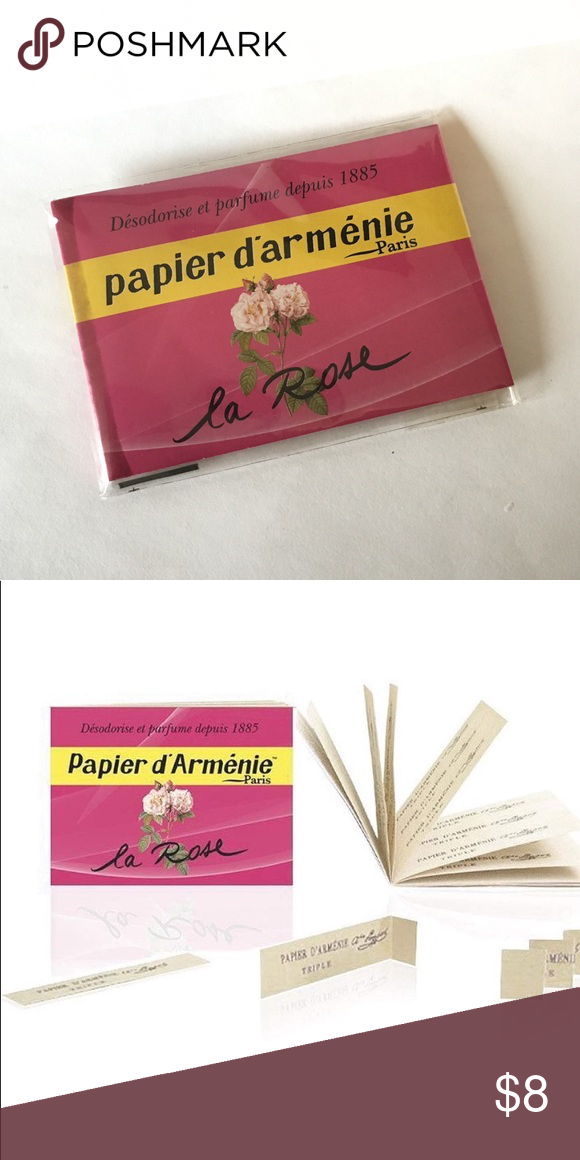 Papier D Armenie Burning Papers Francis Kurkdjian Rose Fragrance Clothes Design Oriental Notes