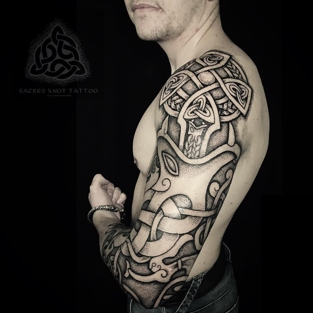 ✿ tattoos ✿ celtic ✿ norse ✿ keith s gosforth inspired cross