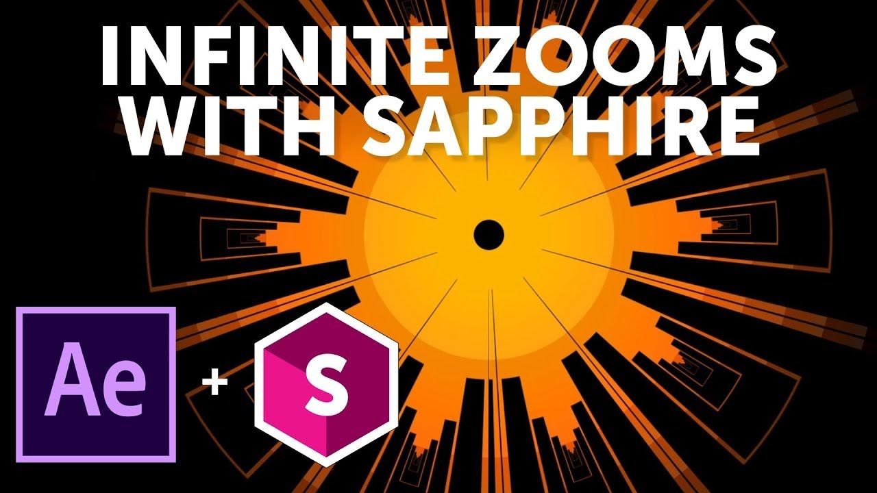 How to Create an Infinite Zoom with Sapphire for Adobe After
