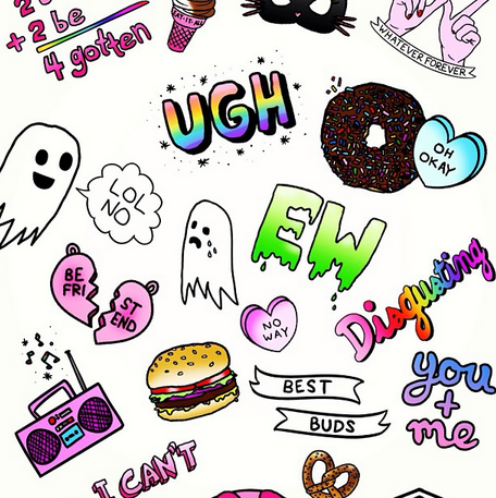 Collage Tumblr Stickers