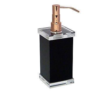Dispenser para Sabonete Líquido Charm Cobre - Preto