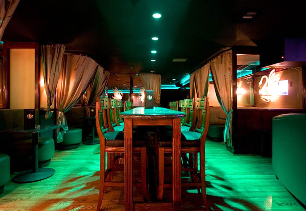 Black Swain Nightclub Hospitality Interior Design of Omni Houston