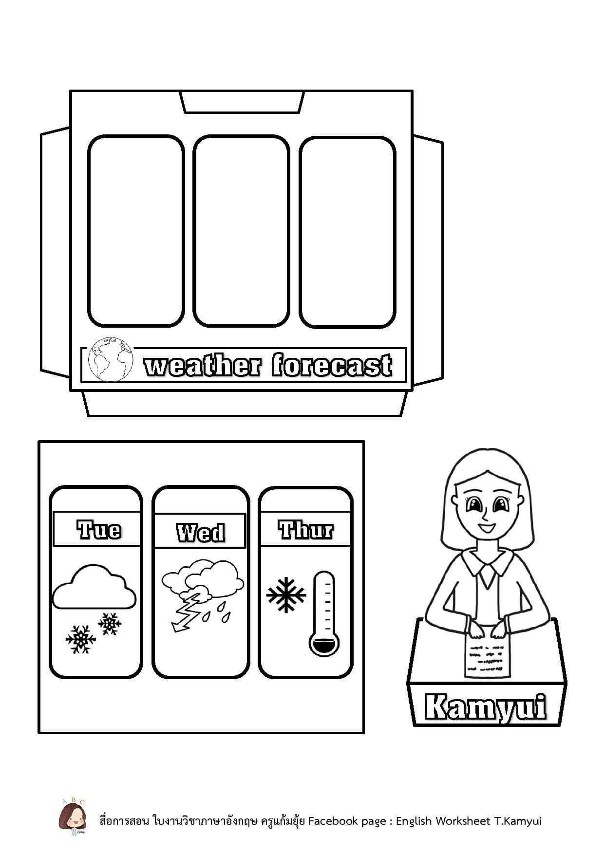 Weather Activities Preschool In