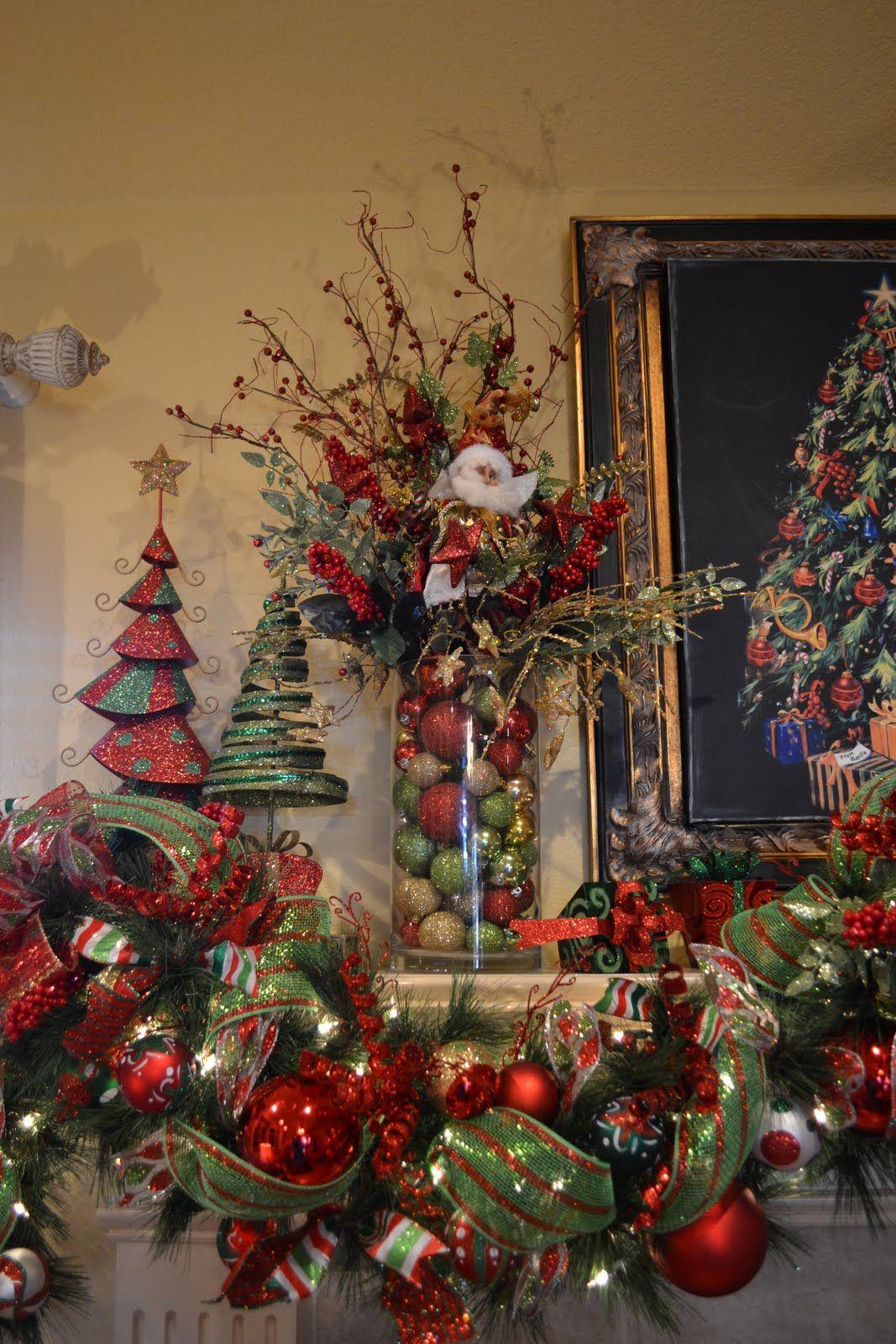 Kristen S Creations My Christmas Mantle Christmas