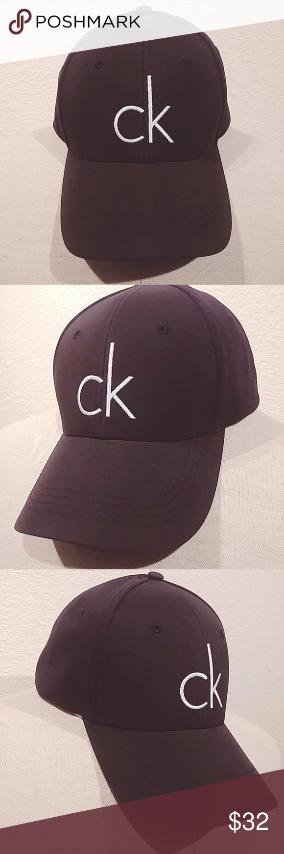 be539cd4debf5 Calvin Klein Cap NWT Calvin Klein Logo Cap