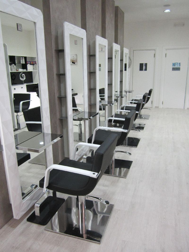 beauty salon design salon furniture made in france hair salon design - Hair Salon Design Ideas