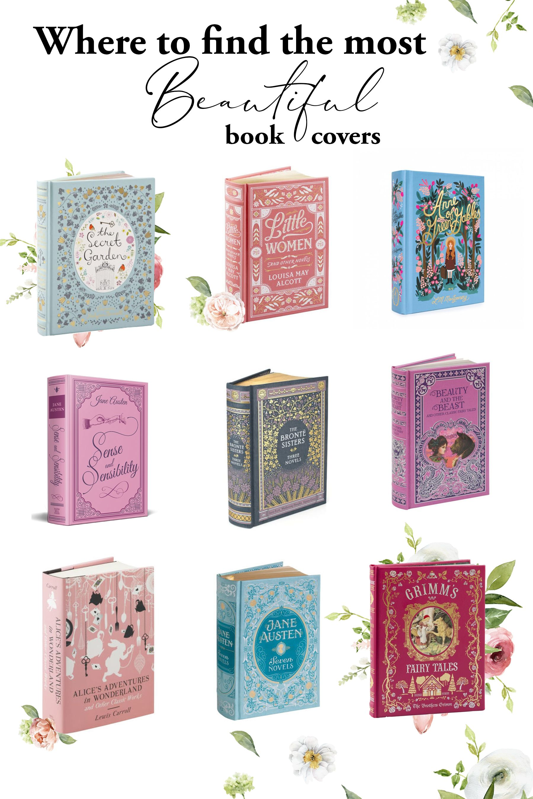 Where To Find Beautiful Book Covers An Enchanted Life Beautiful Book Covers Book Cover Diy Recipe Book Covers