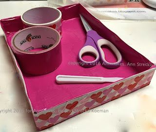Annmakes®: How to Make Cute Trays
