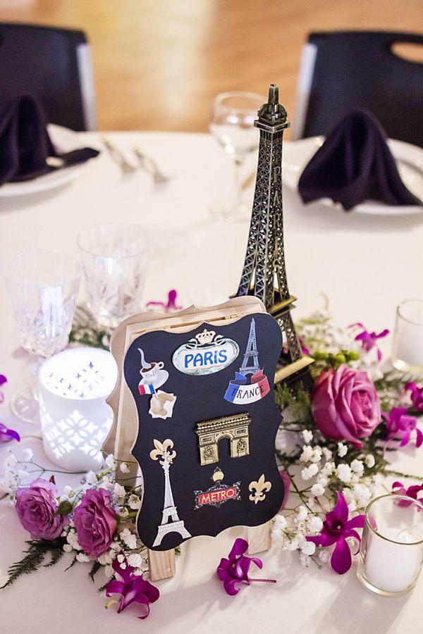 Haley Amits Travel Themed Wedding Fabulous Centerpieces