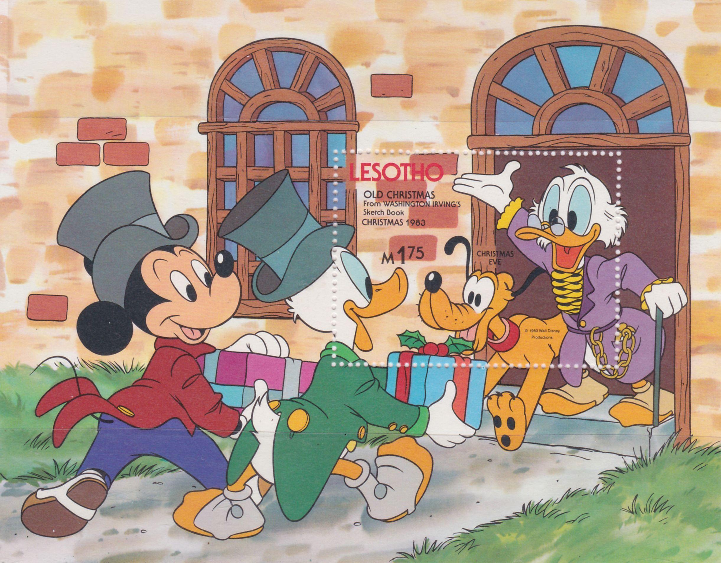 Mickey Pluto Donald Y Rico Macpato Vispera De Navidad Antiguas Navidades De Washington Irving Navidad 1983 Dec 19 Navidad Antigua Mickey Vispera De Navidad