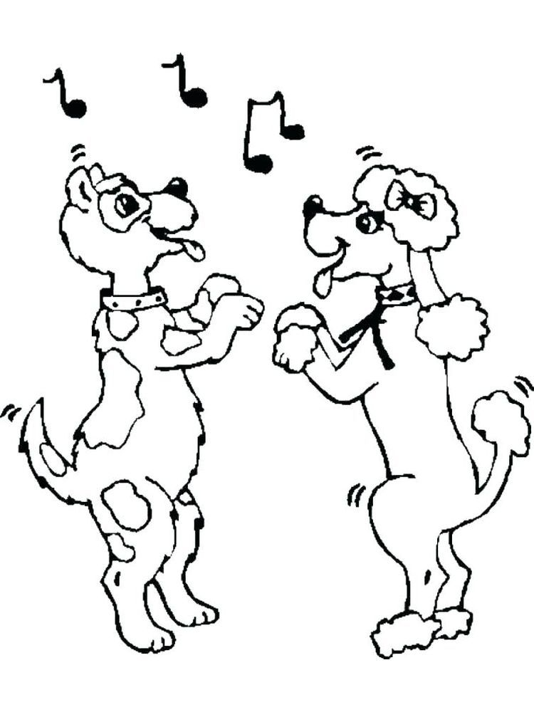 cute dance coloring page. Dance is a dance originating