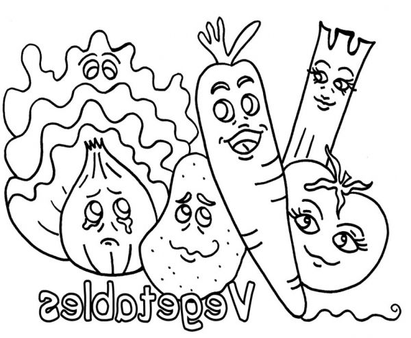 Incredible Lovely coloring pages vegetables - http://coloring ...