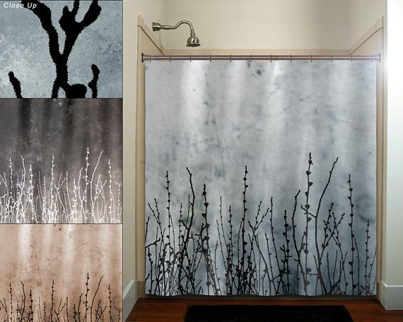 Willow Twigs Tree Branch Grass Sticks Shower By TablishedWorks 6700 For The Bathroom Of House