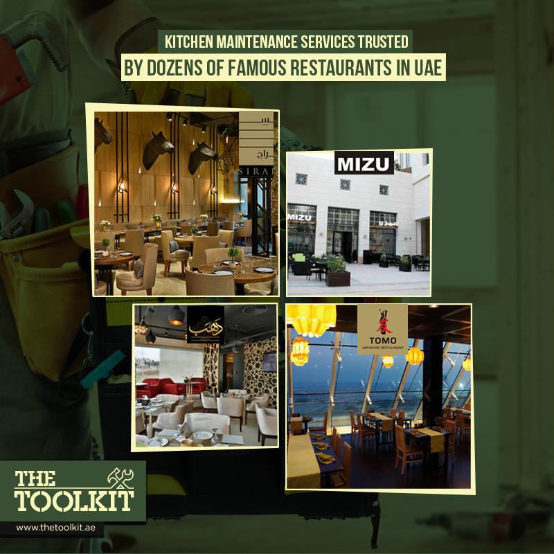 Numerous Famous Restaurants Are Availing Our Kitchen