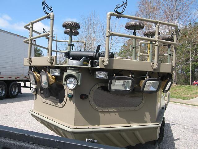 10 ft flounder gig boat jon boat google search boats for Fishing boat lights