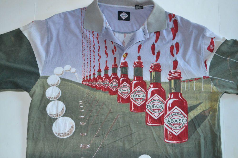 Tabasco shirt t shirt design collections for Tony soprano polo shirts
